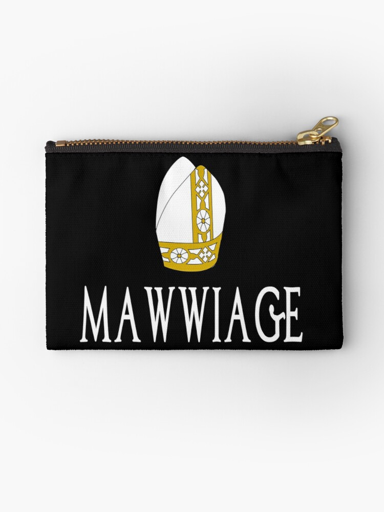Mawwiage The Princess Bride Studio Pouches By Everything Shop
