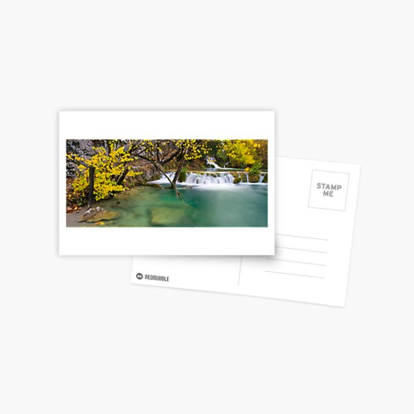 Autumn in Croatia Postcard