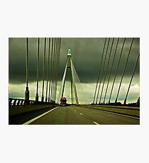 Øresunds Bridge Photographic Print