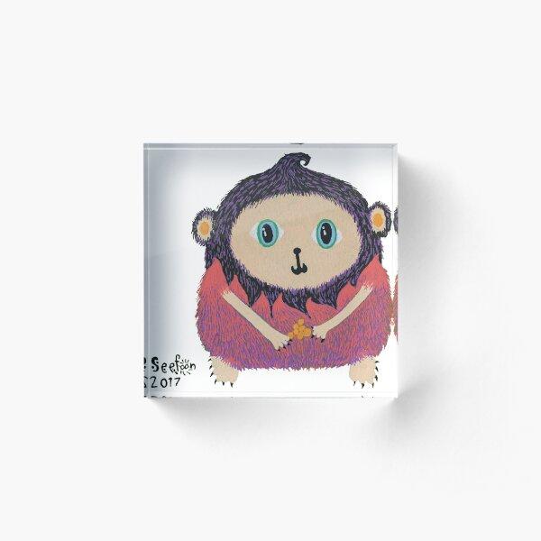 Monkey  Acrylic Block