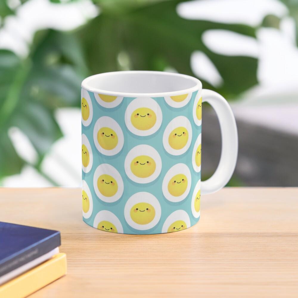 Cute hard boiled eggs Mug