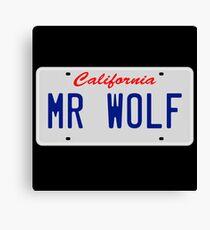 Mr. Wolf - Pulp Fiction Canvas Print