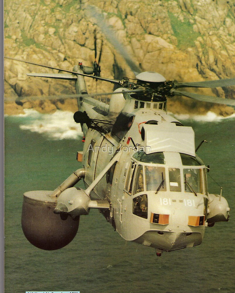A Sea King Helicopter belonging to 849 sqn by Andy Jordan