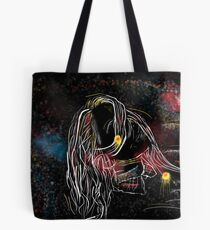 Artistic portrait drawing Tote Bag