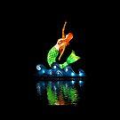 Bright mermaid by woolcos