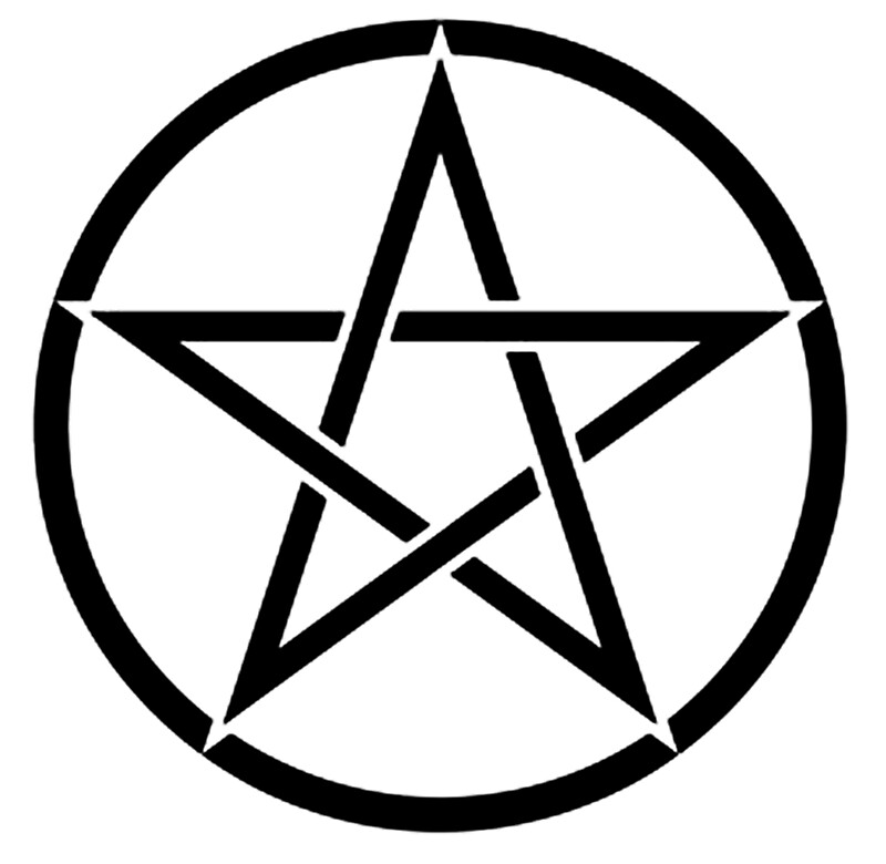 Forever pagan pentacle t shirt junior fit  Small size to  Extra Large size