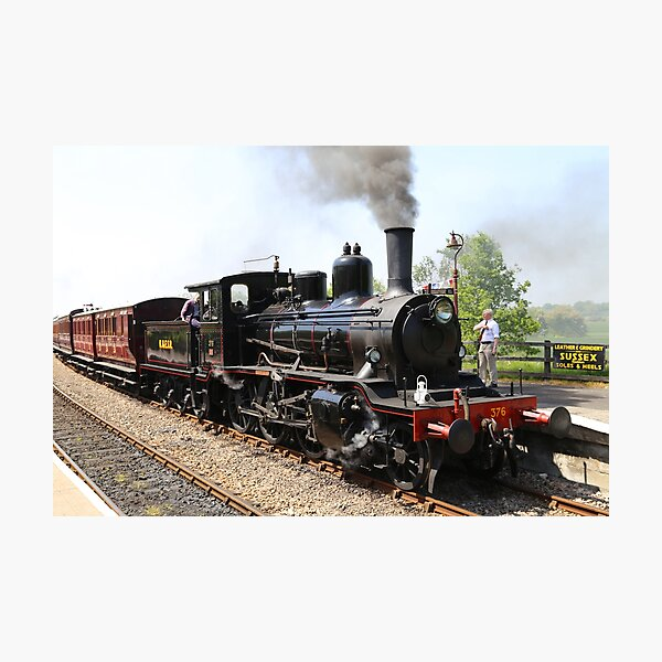 Kent and East Sussex railway, Northiam station, UK Photographic Print