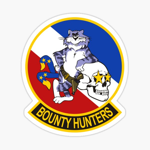 Tomcat VF-2 Bounty Hunters Sticker
