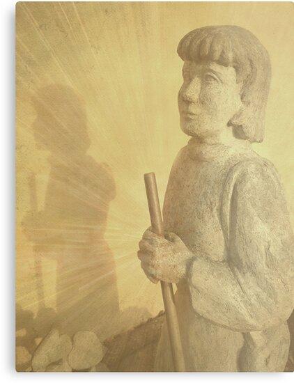 Praying Pilgrim  by Madeleine Forsberg