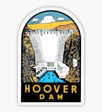 Hoover Dam vintage car decal USA Sticker