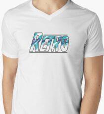 Retro Men's V-Neck T-Shirt