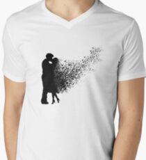 Couple amour dispersion Men's V-Neck T-Shirt