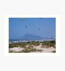 Colourful Kites Art Print