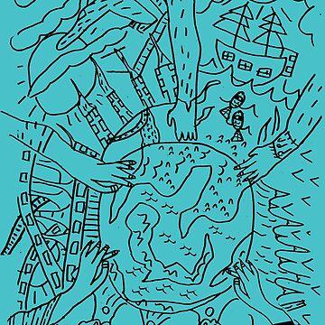 PsyKIDelic Earth by Grafx-Guy