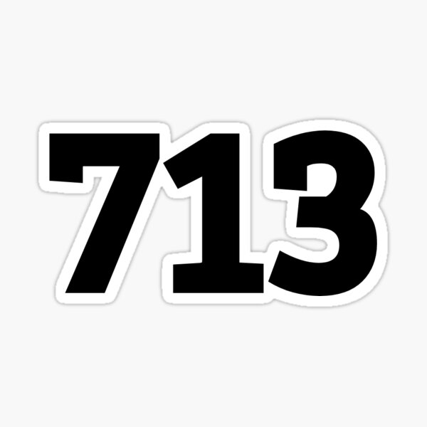 713 Sticker
