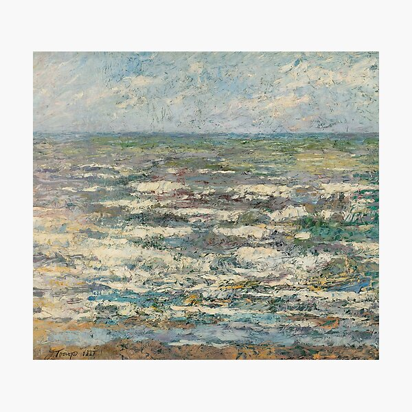 The Sea near Katwijk, Jan Toorop, 1887 Photographic Print