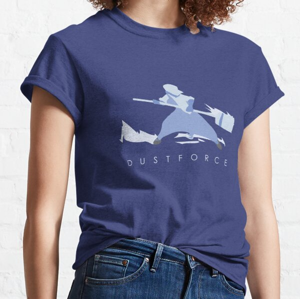 Minimalist Dust Force Blue Man with title Classic T-Shirt