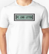 PC Load Letter - Office Space Unisex T-Shirt