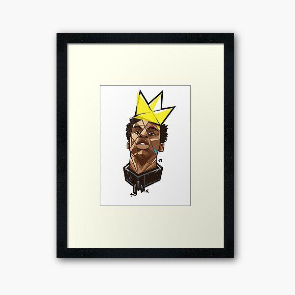 King Kunta - Kendrick Lamar Framed Art Print