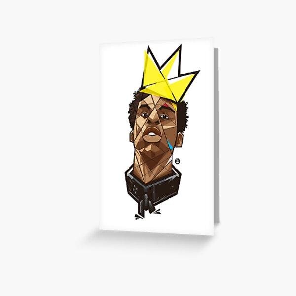 King Kunta - Kendrick Lamar Greeting Card