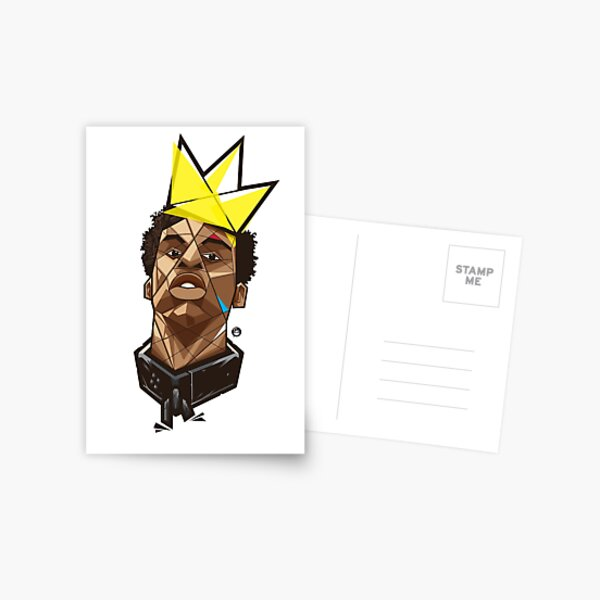 King Kunta - Kendrick Lamar Postcard