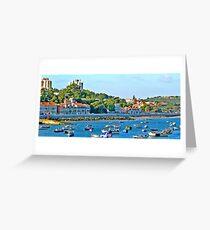Paço D'Arcos village Greeting Card