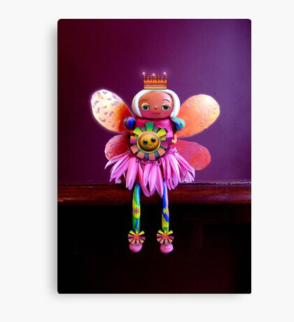 CHUNKIE Birthday Fairy Canvas Print