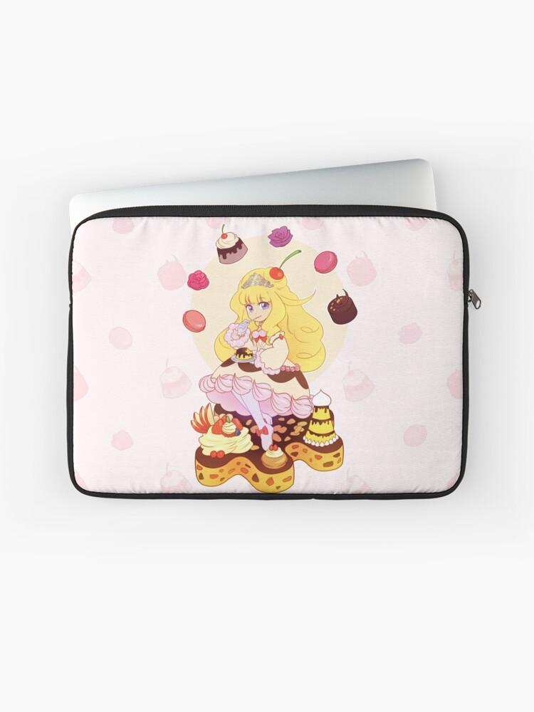 madolche puddingcess yu gi oh laptop sleeve by kiwiblanco redbubble