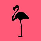 Angry Animals: Flamingo by VrijFormaat