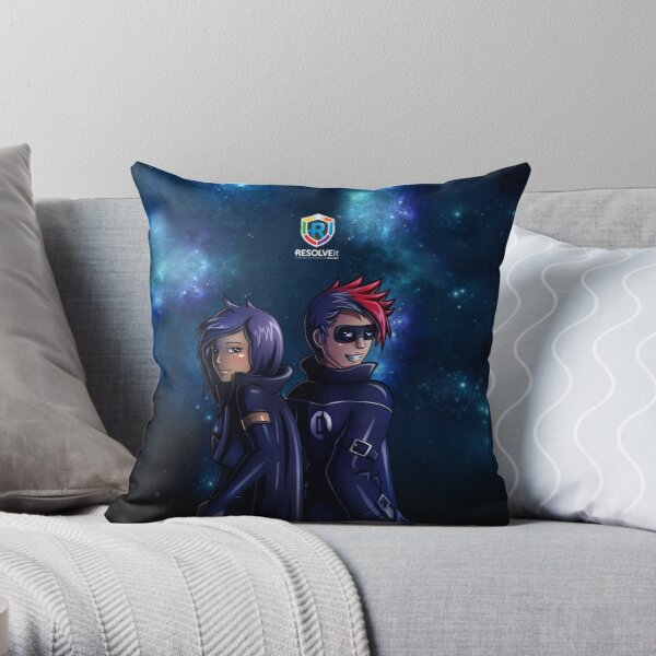 RESOLVEit - Determined Space Throw Pillow