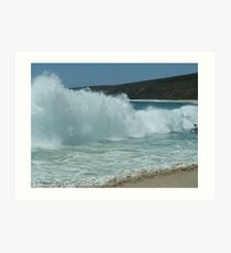 Yallingup Surf  - Western Australia. (MUST VIEW LARGE VERSION) Art Print