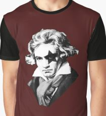 Glam rock Beethoven Graphic T-Shirt