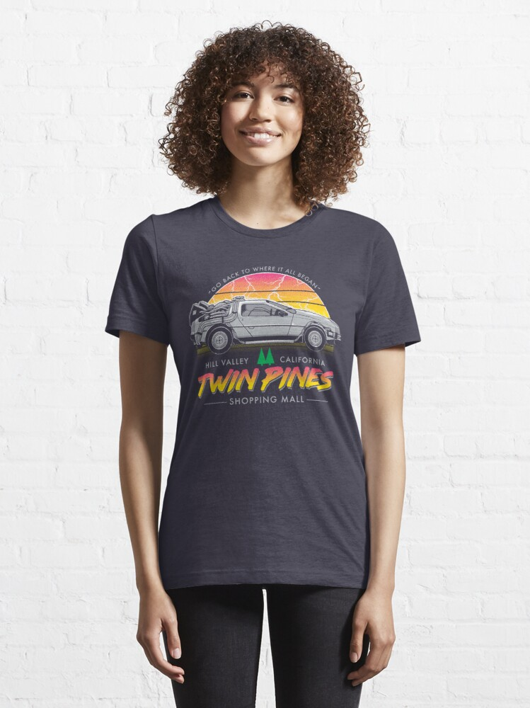 Alternate view of Back to the Mall Essential T-Shirt