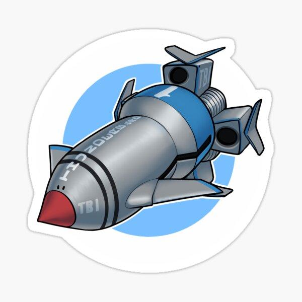 Thunderbird 1 Sticker