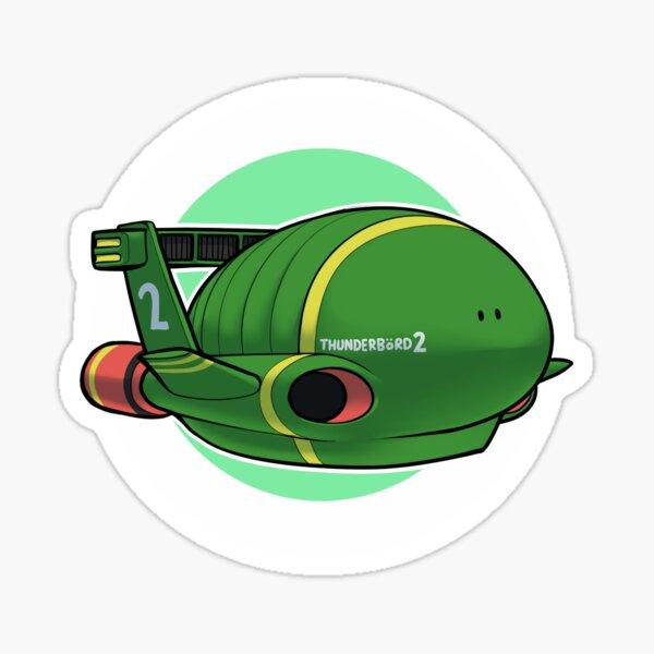 Thunderbird 2 Sticker
