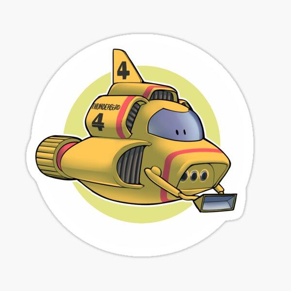 Thunderbird 4 Sticker