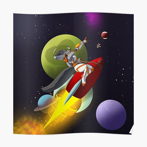 Space Vixen Poster