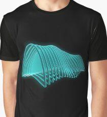 Planar Waves Graphic T-Shirt