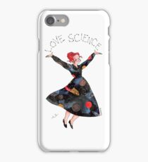 Miss Frizzle loves science iPhone Case/Skin