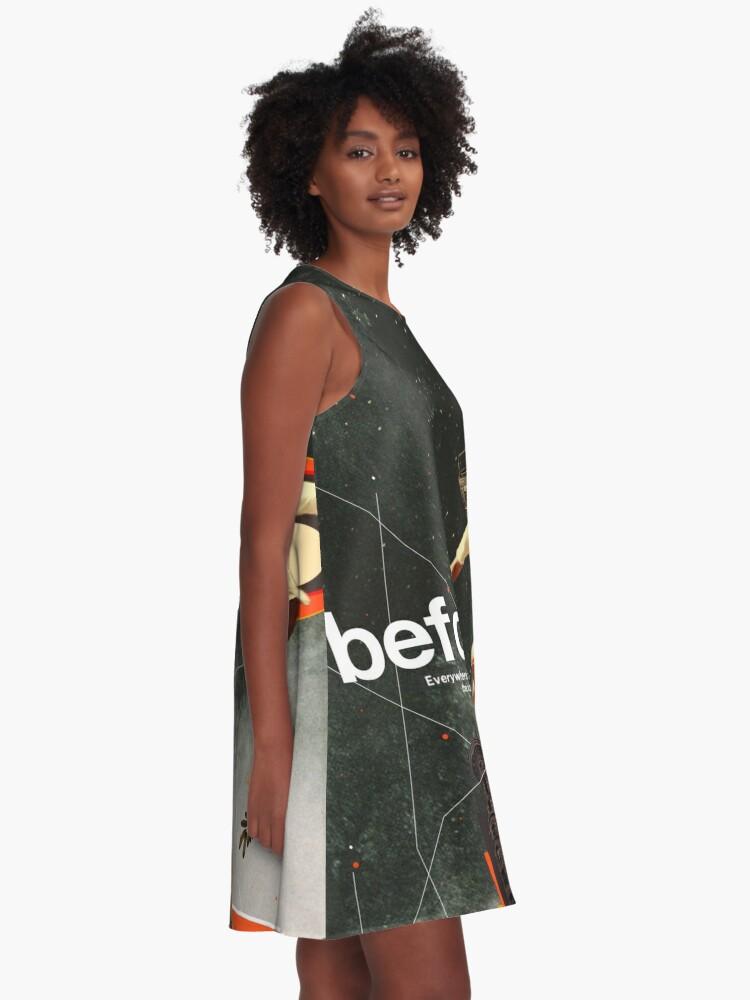Alternative Ansicht von Vor A-Linien Kleid