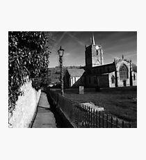 St Mary's Church Wirksworth, Derbyshire Photographic Print