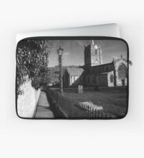St Mary's Church Wirksworth, Derbyshire Laptop Sleeve