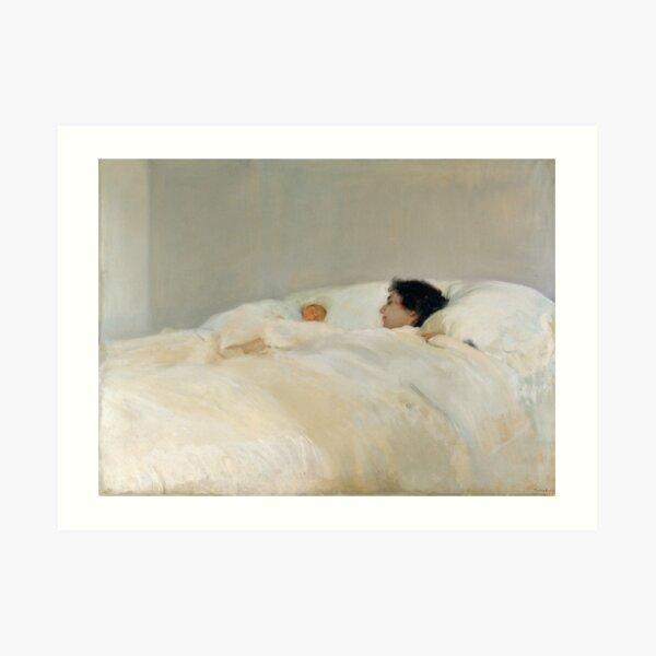 Madre de Joaquin Sorolla, 1895 Lámina artística