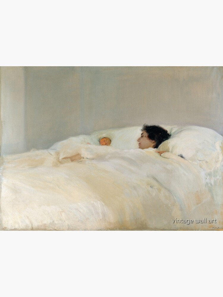 Mother by Joaquin Sorolla, 1895  by fineearth