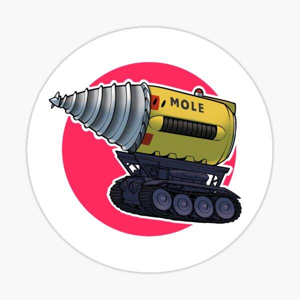 The Mole Sticker