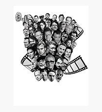 All directors films Photographic Print