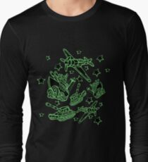 Military Forces Line Art  Long Sleeve T-Shirt