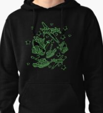 Military Forces Line Art  Pullover Hoodie