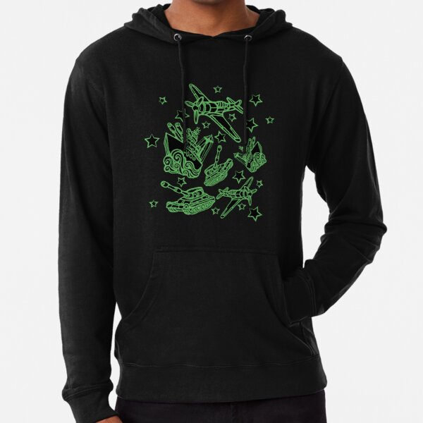 Military Forces Line Art  Lightweight Hoodie