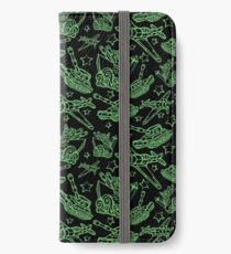 Military Forces Line Art  iPhone Wallet/Case/Skin